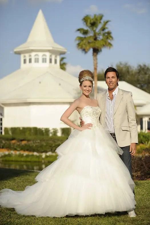 Disney's Fairy Tale Weddings Celebrates Milestone of 'Happily-Ever-Afters' at Walt Disney World Resort 1