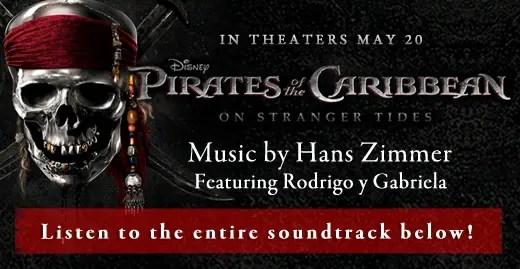 Listen to Pirates of the Caribbean: On Stranger Tides