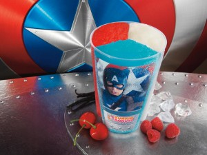 Dunkin' Donuts and Baskin-Robbins Presents: Captain America: The First Avenger Summer Treats 1