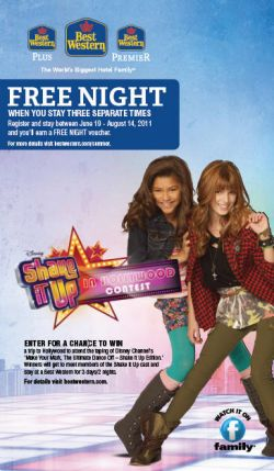 Disney Channel Shake It Up Sweepstakes