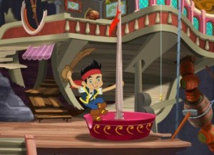 Peter Pan Returns to Neverland in All New 'Jake and the Neverland Pirates' Premiere 1