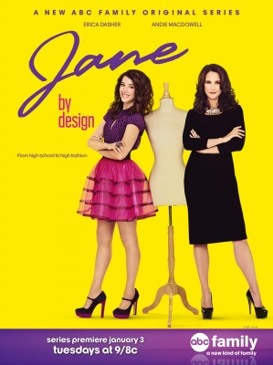 """Sorcerer Radio Interview with Andie MacDowell of ABC Family's """"Jane By Design"""" 1"""