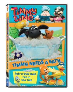 """""""Timmy Time: Timmy Needs A Bath"""" Available On DVD 1/24/12 1"""
