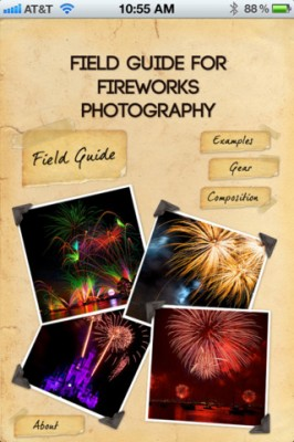 Disney World App Review - Fireworks Photography Field Guide 1