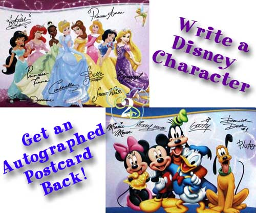 Send A Letter To Your Favorite Disney Character