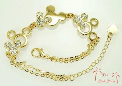 Win a Fabulous Gold Plated Mickey Bracelet 1