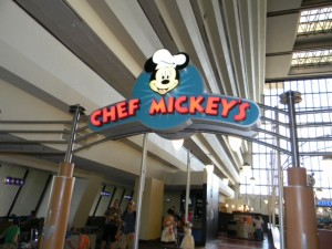 Enjoying Chef Mickey's As An Adult Diner 1