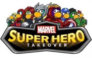 Marvel Super Heroes Assemble on Disney's Club Penguin 1
