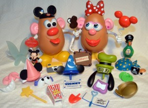 Disney Potato Head accessories