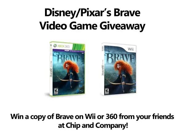 Disney Pixar Brave Video Game Giveaway