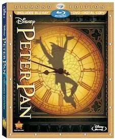 Disney's Peter Pan: Diamond Edition coming to Blu-Ray on February 5th! 2