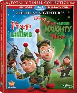 Prep & Landing Totally Tinsel Collection Blu-ray DVD