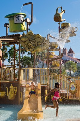New 'Alice In Wonderland' Kids' Water Play Area Opens at Disney's Grand Floridian Resort 1