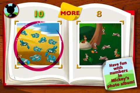 Mickey's Wildlife Count Along App