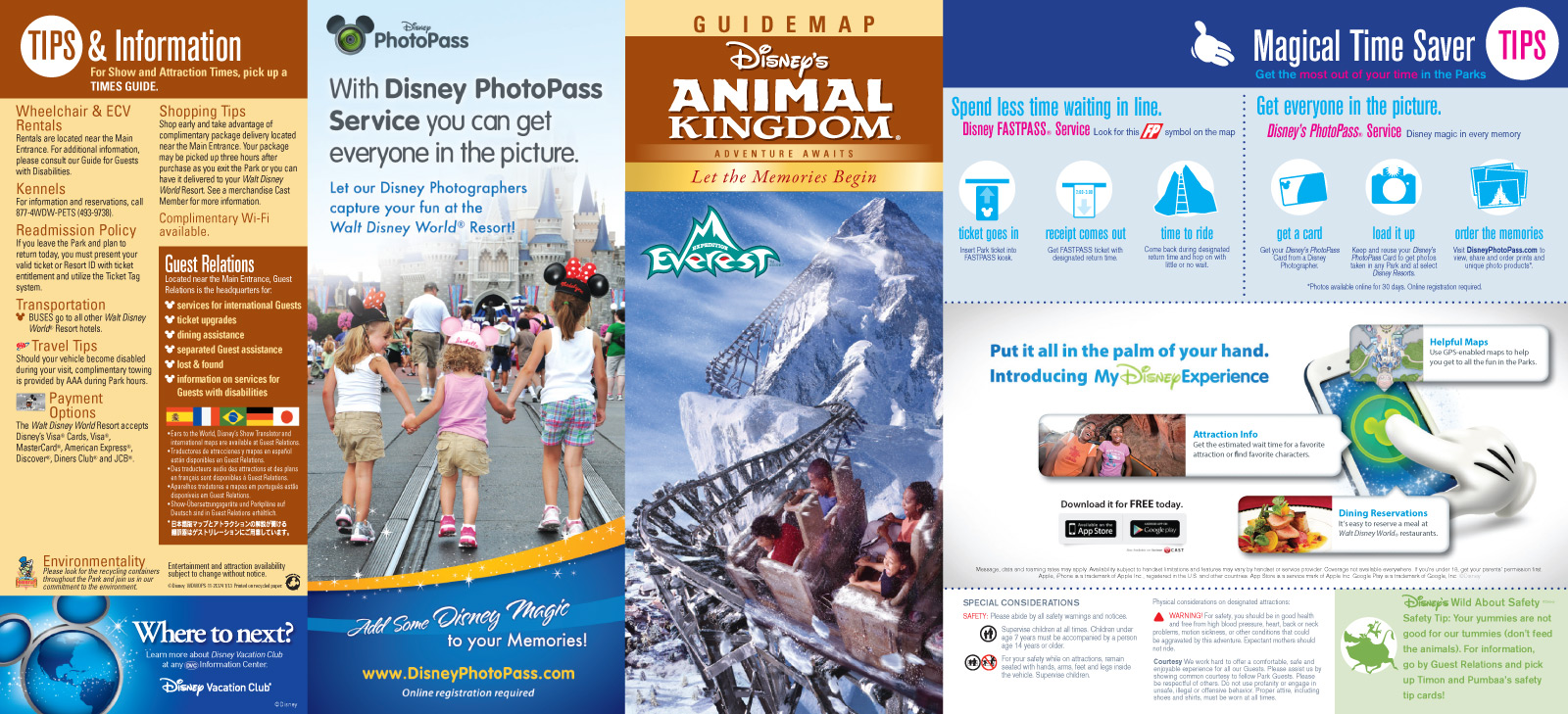 All New 2013 Walt Disney World Park Maps - Chip and Co