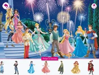 Royal Party Sticker scene