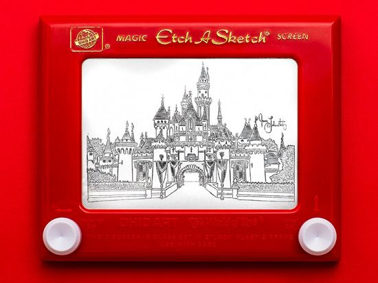castle etch and a sketch