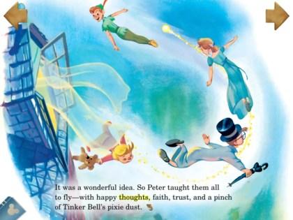 Peter Pan story app