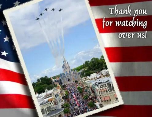 flyover Walt Disney World