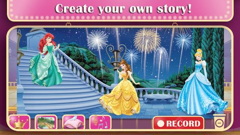 Disney Princess: Story Theater App Now Available