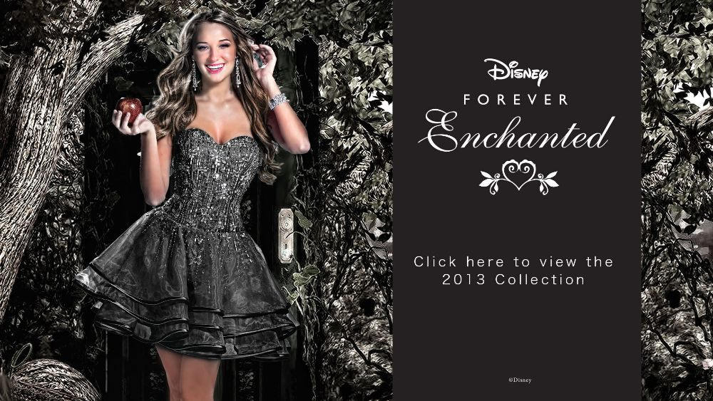 Disney Forever Enchanted 2013 Prom Collection