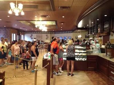 Main Street Bakery Magic Kingdom