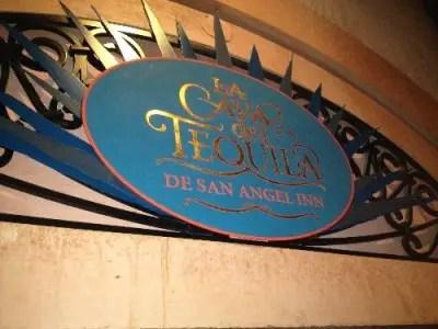 Sign La Cava del Tequila