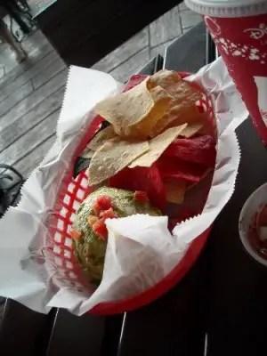 Guacamole from La Cantina