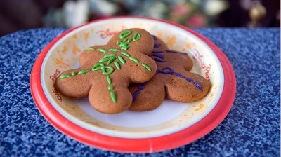 Spooky Gingerbread cookies for limited time magic