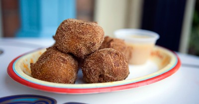 Hot Pumpkin Fritters for Limited Time Magic