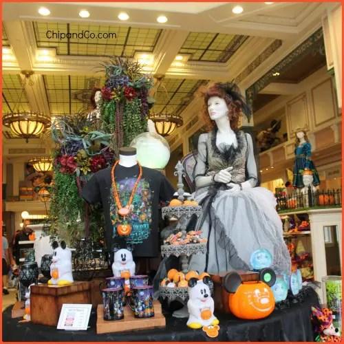 Haunted Mansion display
