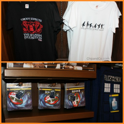 epcot monty python uk merch