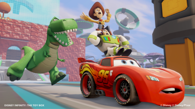 Disney Infinity Cars and Toy Story