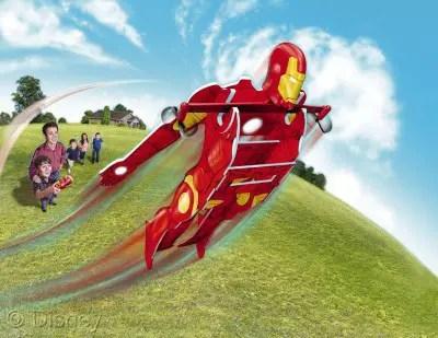 Iron Man Flying RC Hero