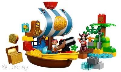 Jake and the Neverland Pirates Lego