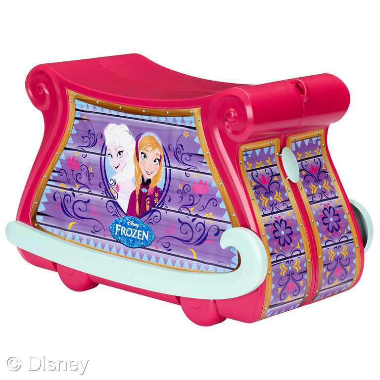 4fb666032baa Frozen Rolling Travel Trunk by Jakks Pacific (MSRP  49.99)  Dress up just  like Anna and Elsa with two beautiful dresses and tons of accessories