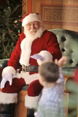 Santa at Disney World