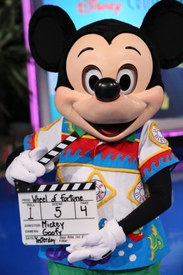Mickey Wheel of Fortune DCL