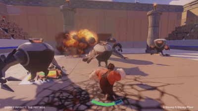 Disney infinity Heroes vs Villains Toy Box
