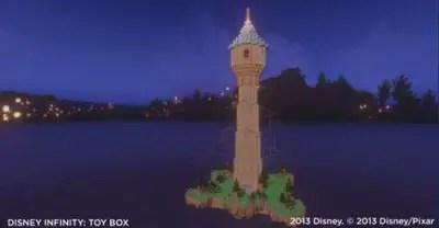 Disney Infinity Tangled Toy Box