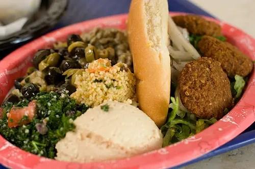 veggie platter Morocco