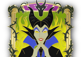Maleficient Pin
