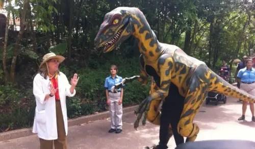 Dinosaurs at Animal Kingdom