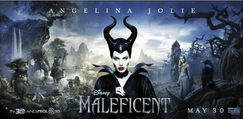 Maleficent Poster 3d