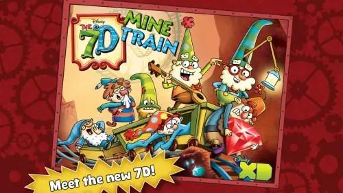 7D Mine Train App