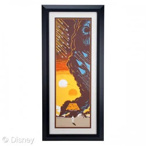 Star Wars framed art