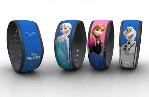 Frozen Magic Bands