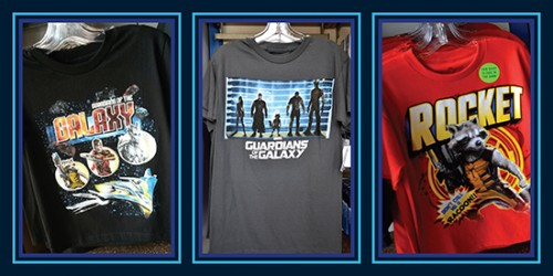 Guardians of the galaxy shirts