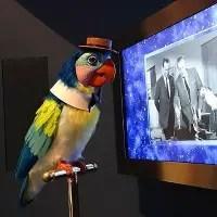 Walt Disney Museum - Tiki Bird