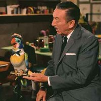 Walt with Barker Bird